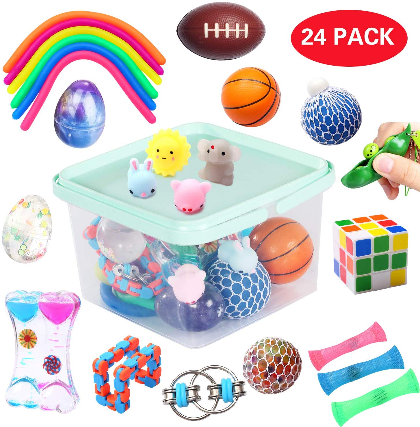 Satisfying Toy Stress Relief Toys Toys for ADHD Anxiety Toys Flow Rings Fun Things Cool Toys Mr Travel Toys Cool Things Pen- Flow Ring Fidget Toys ADHD Fidget Toys Cool Stuff Fun Stuff