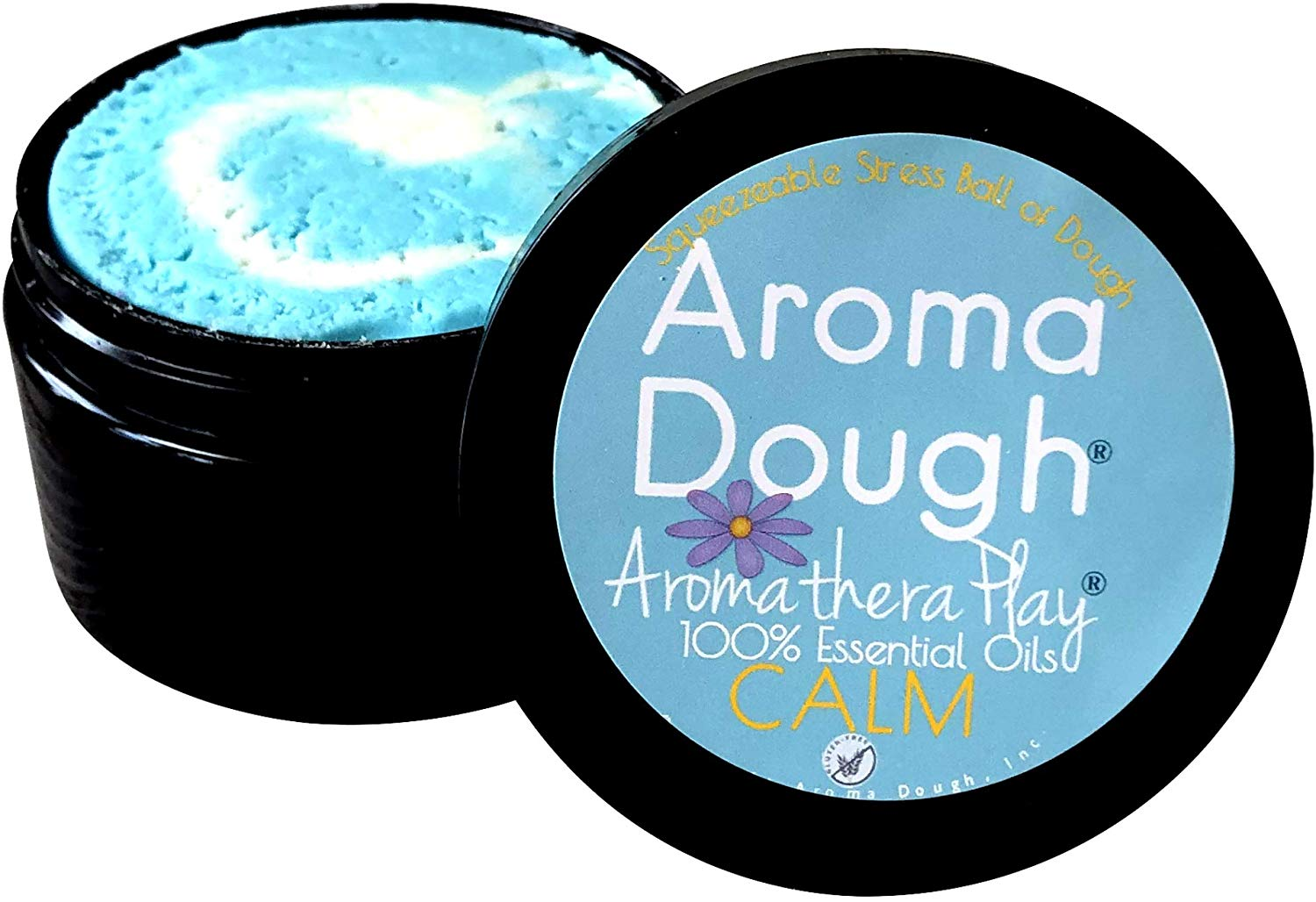 Aroma Dough Sleepytime Lavender Aromatherapy Play Dough Gluten-Free Non-Allergenic Natural Playdough Play Therapy Tools Helps Promote Sleep Sensory Room Equipment