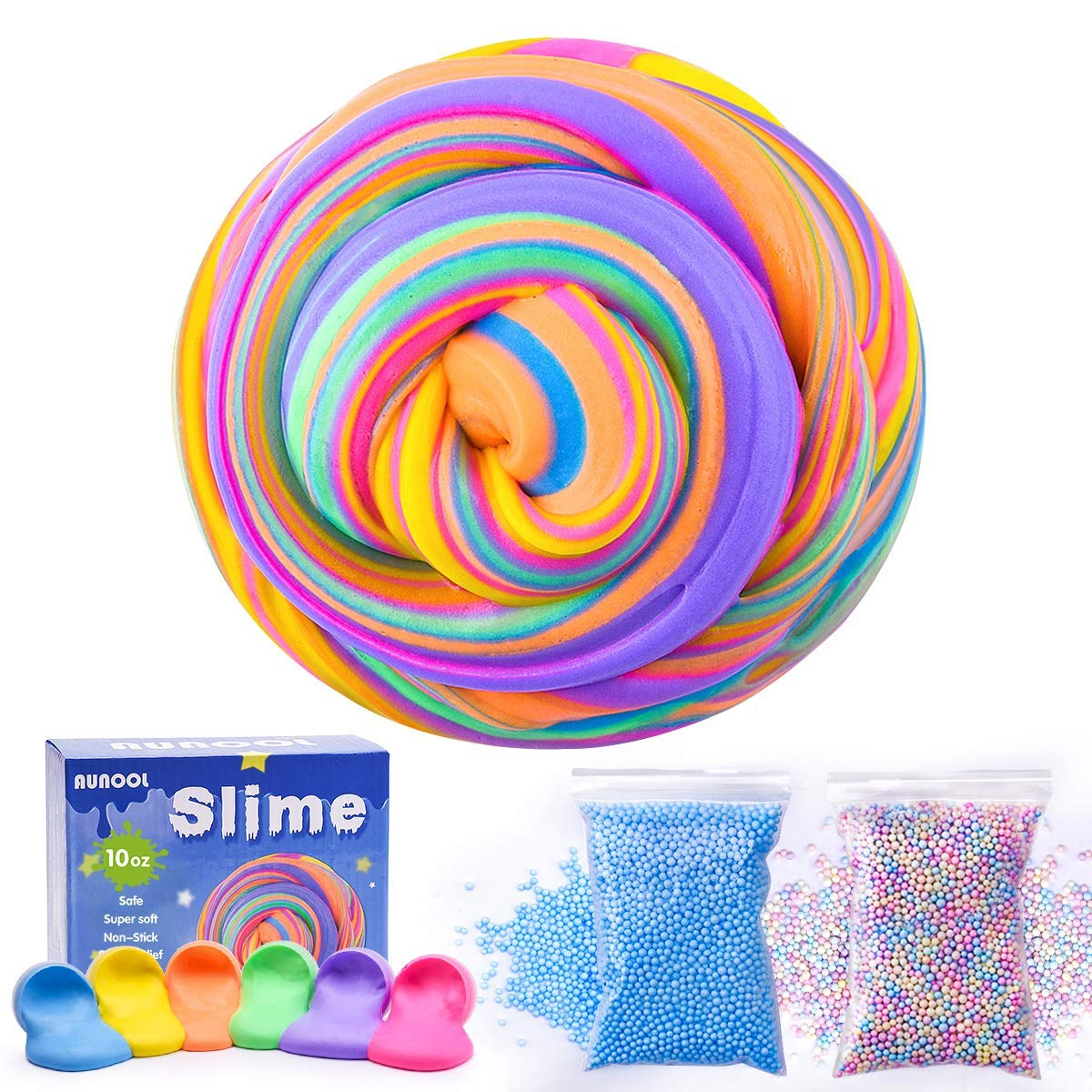"""Fidget Toy Perfect for Party Favors and Supplies Imaginative and Sensory Toy Stretchy Tooth Assorted Neon Sticky Tooth 8/"""" Colored Pack of 48 Stress and Anxiety Reliever"""